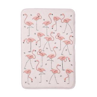 Flamingos Pink bath mat