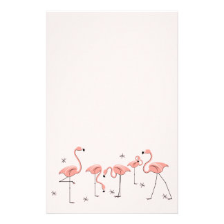 Flamingos Pink Group stationery