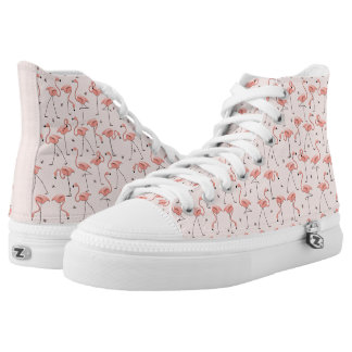 Flamingos Pink hi top shoe