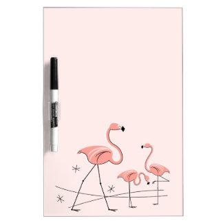Flamingos Pink Trio 2 dry erase board