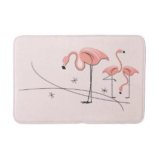 Flamingos Pink Trio 3 bath mat