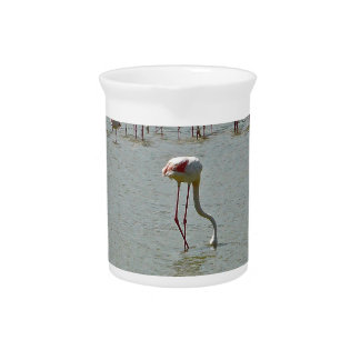 Flamingos Pitcher