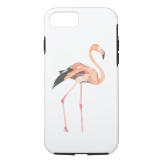 Flamingo's polygon  iPhone 8/7, Tough Phone Case