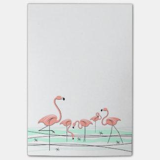 Flamingos post-it post-it notes