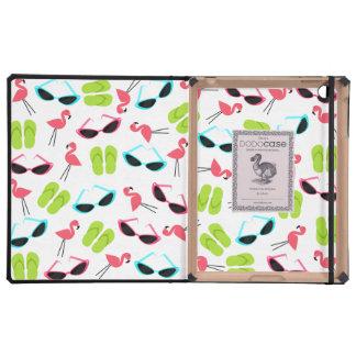 Flamingos & Things DODOcase For iPad 2/3 iPad Case