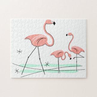 Flamingos Trio 2 puzzle