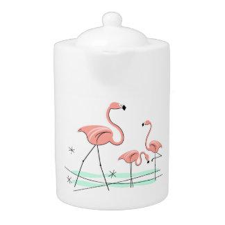 Flamingos Trio 2 teapot