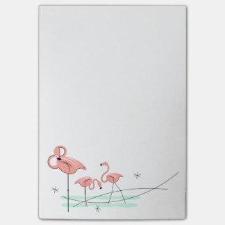 Flamingos Trio Post-it Notes