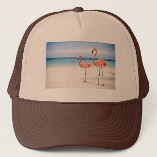 Flamingos Trucker Hat