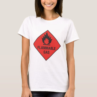 Flammable Gas - Handle With Care T-Shirt