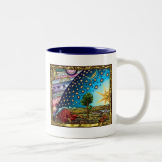 Flammarion Dome Mug!! AWESOME Two-Tone Coffee Mug