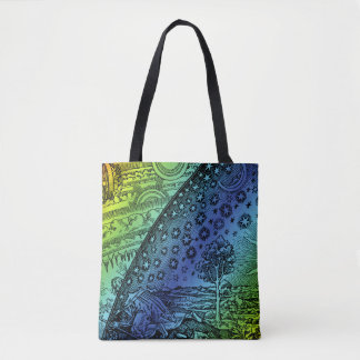 Flammarion Heaven and Earth Engraving Tote Bag