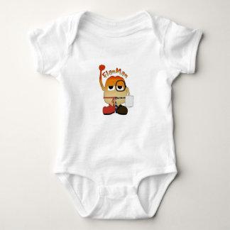 Flan Man Baby Bodysuit