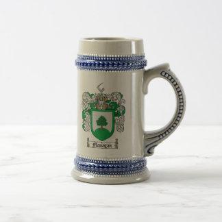 Flanagan Coat of Arms Stein / Flanagan Crest Stein