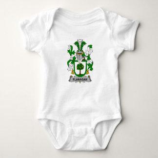 Flanagan Family Crest Baby Bodysuit