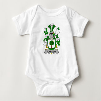 Flanagan Family Crest T Shirts