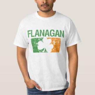 Flanagan Surname Clover T-Shirt