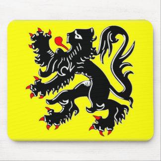 Flanders Flag Mouse Mat