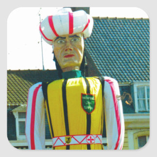 Flanders tradition, Parade of the Giants Square Sticker