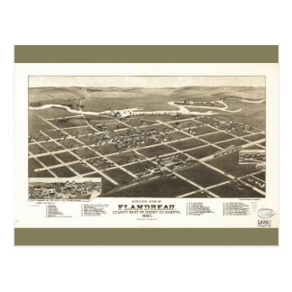 Flandreau South Dakota (1883) Postcard