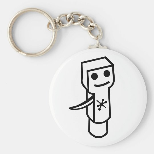 Flapjack Cartridge Keychain