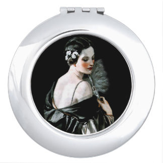 Flapper Compact Travel Mirror
