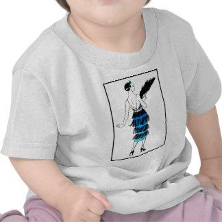 Flapper Dress With Fringe Tee Shirts