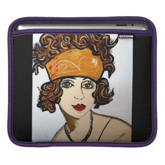 FLAPPER GIRL iPad SLEEVES