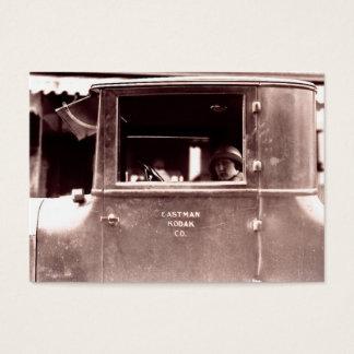 Flapper in a Tin Lizzie Roaring Twenties