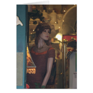 Flapper Mannequin card