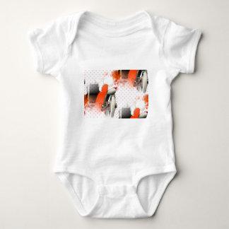 flapper polkadots baby bodysuit