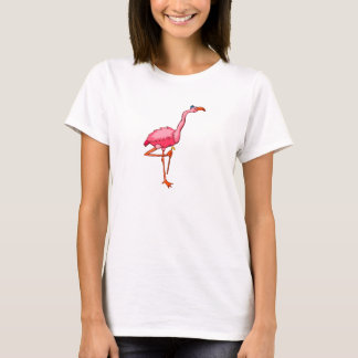 Flappy Flamingo T-Shirt
