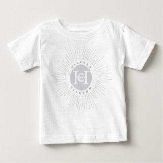 Flare Black and White Vintage Hillary Baby T-Shirt