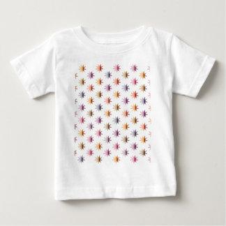 Flare Polka Dots (no back) Baby T-Shirt