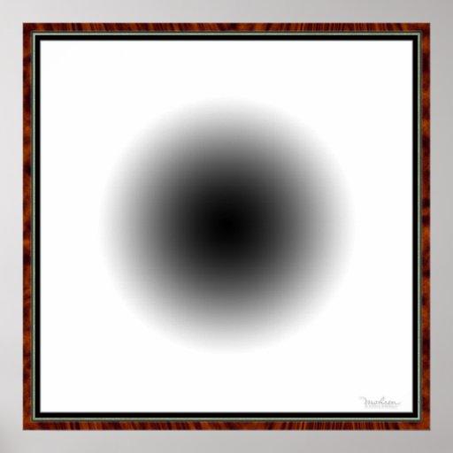 Flaring Eye Ball Poster