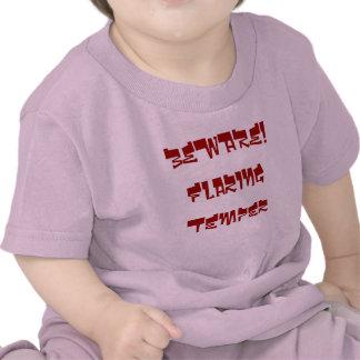 Flaring Temper Baby T-shirt