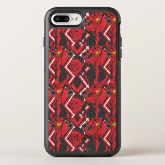 Flash - Absurd Collage Pattern OtterBox Symmetry iPhone 8 Plus/7 Plus Case