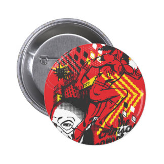 Flash - Absurd Collage Poster 6 Cm Round Badge