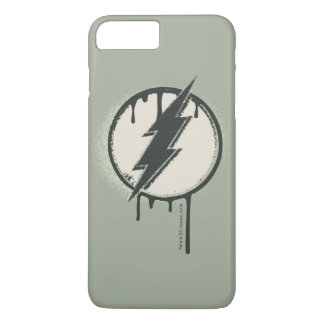 Flash Bolt Paint Grunge iPhone 8 Plus/7 Plus Case