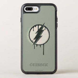 Flash Bolt Paint Grunge OtterBox Symmetry iPhone 8 Plus/7 Plus Case