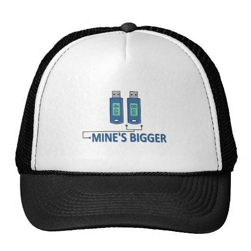 Flash Drives Mesh Hats