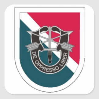 FLASH/DUI 11TH SPECIAL FORCES GRP STICKERS