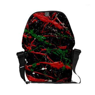 FLASH FIRE (an abstract art design) ~ Courier Bag