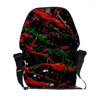 FLASH FIRE (an abstract art design) ~ Messenger Bag