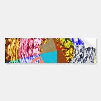 Flash Graffiti - Naveen Joshi Signature Style Bumper Sticker