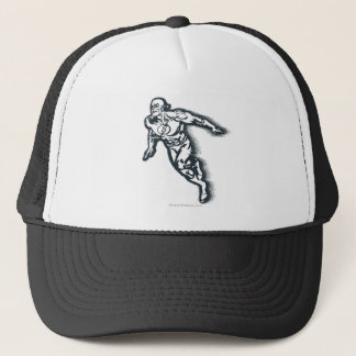 Flash Grunge Trucker Hat