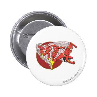 Flash In Motion 6 Cm Round Badge