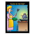 """Flash In The Pan"" Postcard"