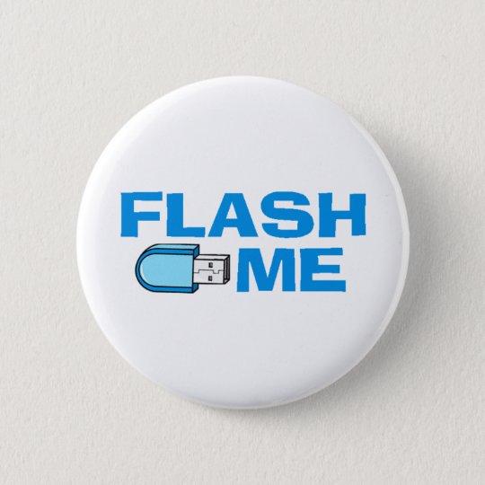 flash_me 6 cm round badge