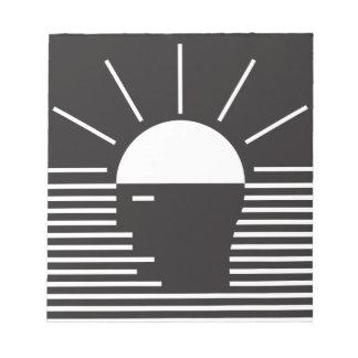 flash of bright  idea notepad